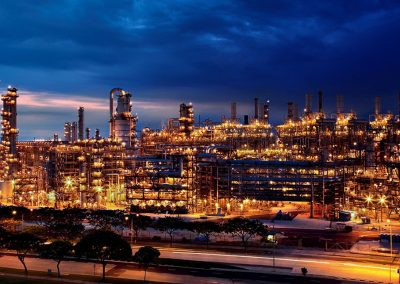 SINGAPORE OLEFIN PLANT, PETROCHEMICAL PLANT IN JURONG ISLAND (SINGAPORE)