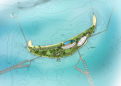 MASTERPLAN & DESIGN FOR HOSPITALITY PROJECT FOR ECO-RESORT DEVELOPMENT (MALDIVES)