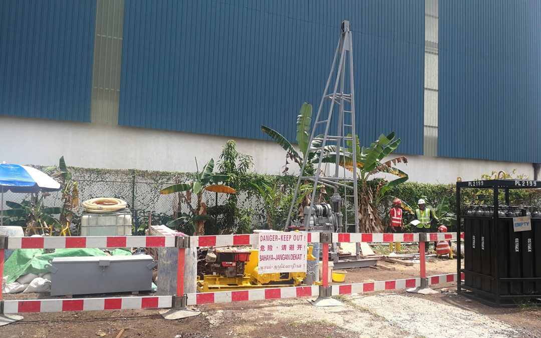 ENVIRONMENTAL BASELINE STUDY (EBS) FOR AN INDUSTRIAL SITE IN SINGAPORE