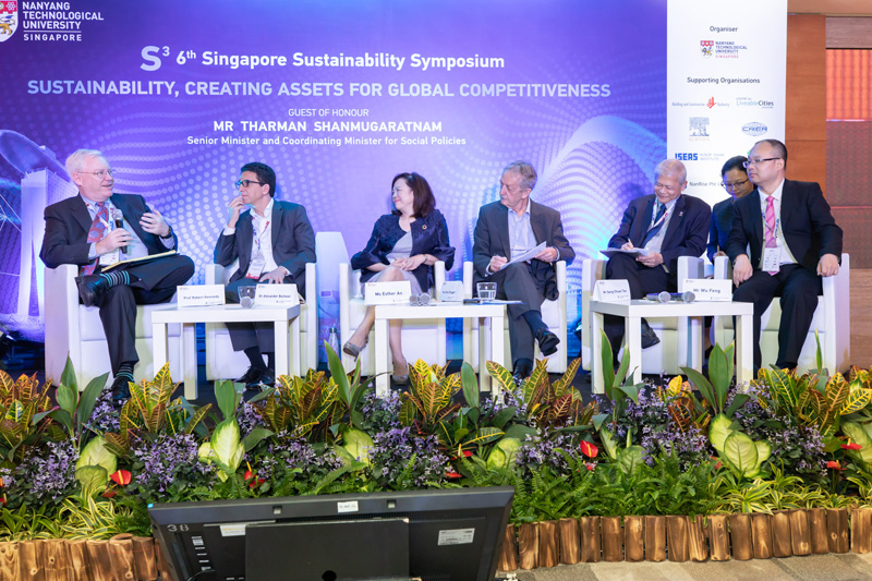 PRESENTATION AT 6TH SINGAPORE SUSTAINABILITY SYMPOSIUM, 8-10 MAY 2019