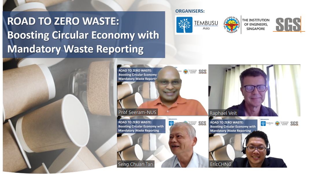 Thank you for joining us on the Road to Zero Waste webinar!
