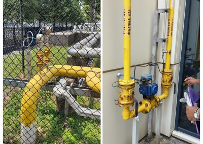 CERTIFICATION FOR NATURAL GAS PIPELINE FOR A PETROCHEMICAL PLANT