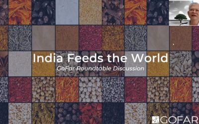"""TAC's sharing in GoFar's Roundtable Discussion """"India Feeds the World"""""""
