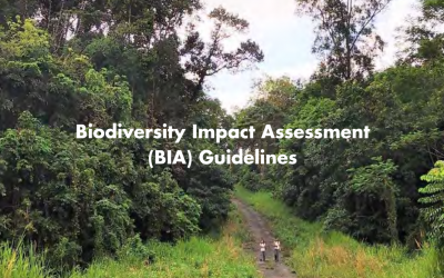 Singapore recently released the Biodiversity Impact Assessment (BIA) Guidelines!