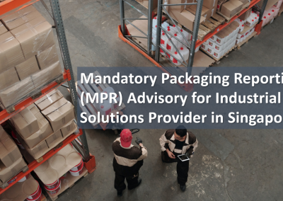 Mandatory Packaging Reporting (MPR) Advisory for Industrial Solutions Provider in Singapore